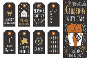 Christmas gift tags | vol.3