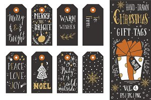 Christmas gift tags | vol.4