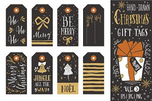 Christmas gift tags | vol.5