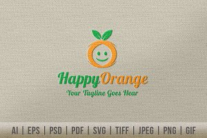 Happy Orange Logo