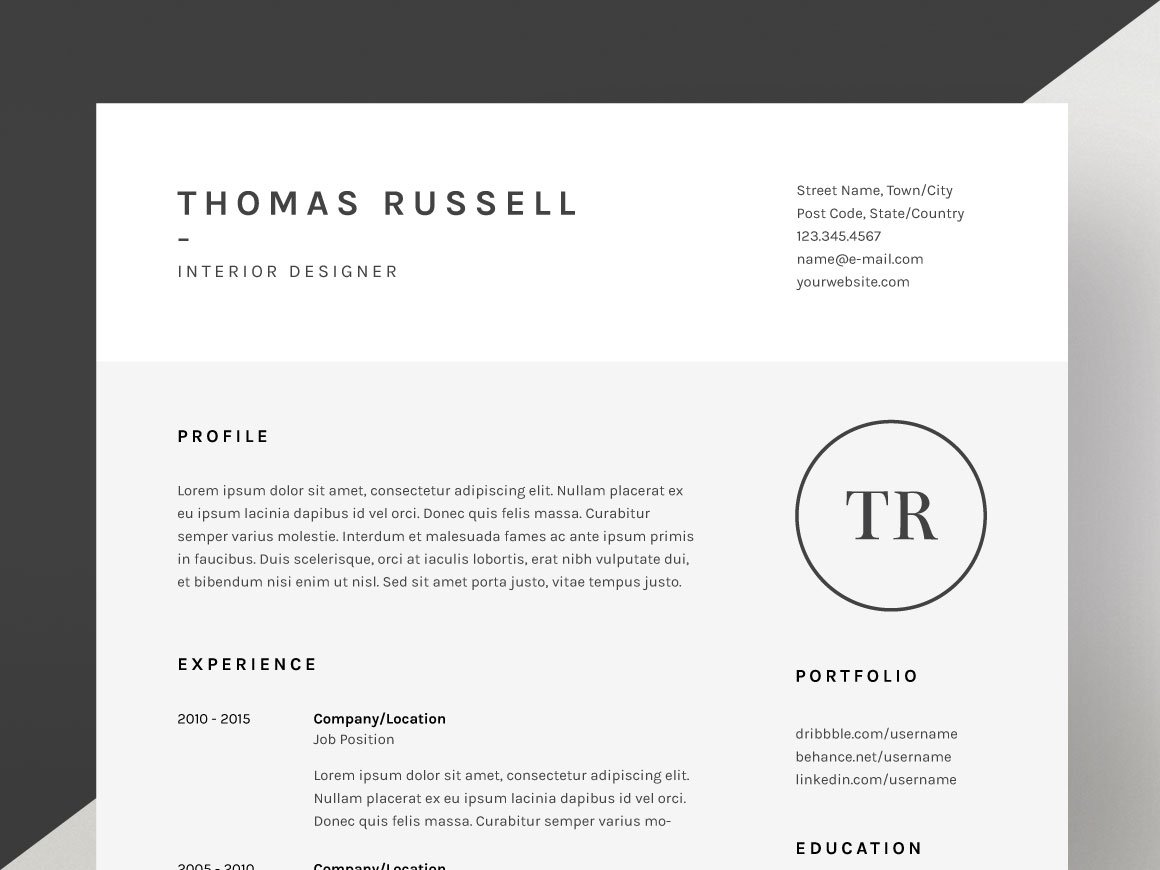 preview of resume example resume and cover letter