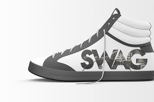 Shoes Mockup - Sneakers Shoes Mockup