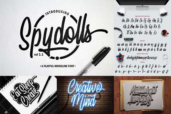 ALL OUT COLLECTION BUNDLE 90% OFF in Display Fonts - product preview 8