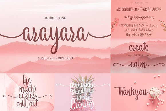 ALL OUT COLLECTION BUNDLE 90% OFF in Display Fonts - product preview 10