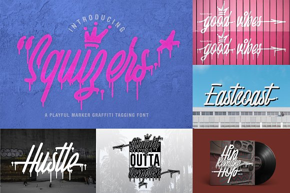 ALL OUT COLLECTION BUNDLE 90% OFF in Display Fonts - product preview 13