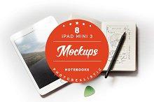 30% off - iPad mini 3 mockups