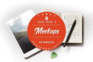 30% off - iPad mini 3 mockups