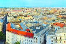 Panorama  of Budapest, Hungury