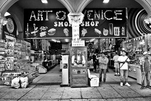 A Gift Shop at Venice Beach