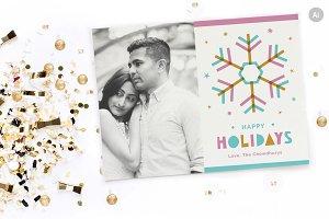 Holiday Greeting Card - Snowflake