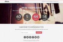 Alissa - Coming Soon WordPress Theme