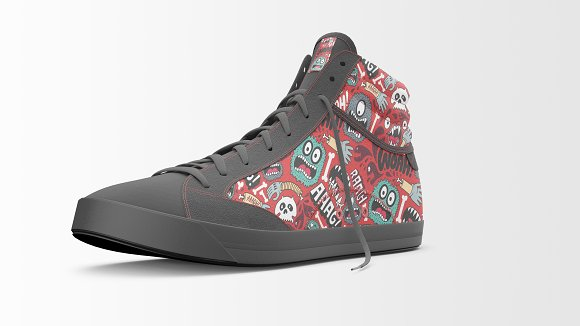 Shoes Mockup - Sneakers Shoes Mockup