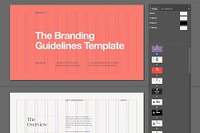 Minimal Brand Guidelines Template by  in Other Software