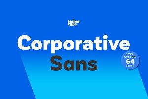 Corporative Sans - 50% off