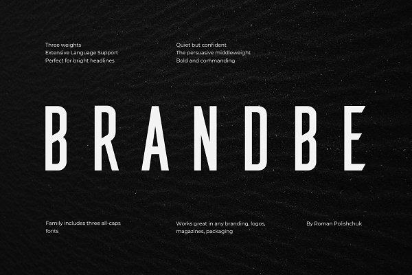 Brandbe — Stylish Sans Serif