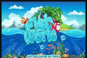 Fish world - GUI pack 9
