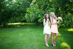 Women in Green Field