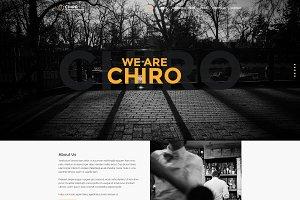 Chiro - Creative Onepage Portfolio