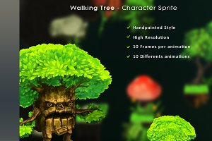 Walking Tree – Character Sprite