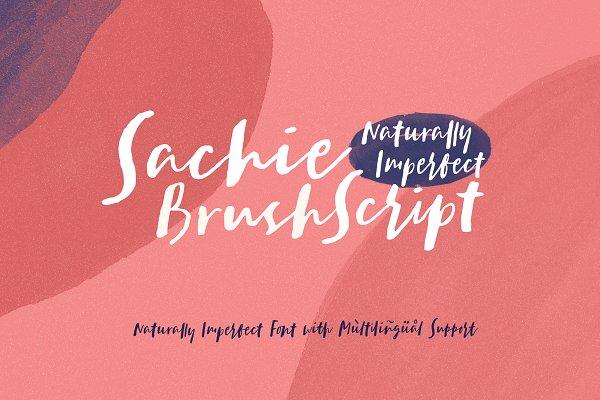 Sachie Script Font