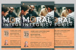 Moral Integrity Church Flyer