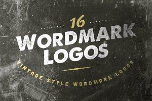 16 Wordmark Logos