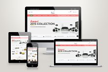 Responsive Magento Furniture Theme by  in Magento