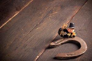 Horseshoe and chimney sweep