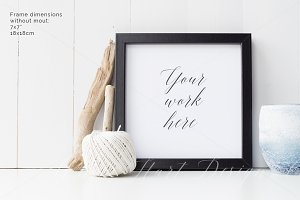 Styled stock photo - frame mock up