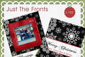 Just The Fronts - J103- Photo Card