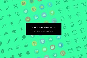 The Icons 3in1 1320