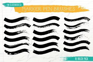 Marker Pen Brushes