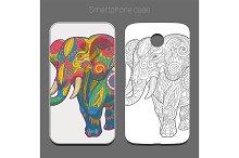 Elephant ornament artwork