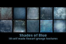 10 Blue toned Textures