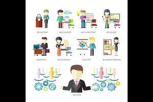 Business Peoples Professions
