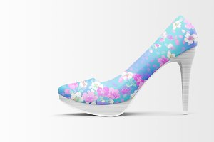 Shoes Mockup - High Heels Mockup 1
