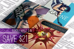 Bundle Magazine 3 IN 1
