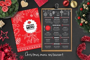 Food menu, restaurant flyer #16