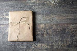 Christmas rustic gift