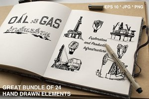 Oil and gas industry objects