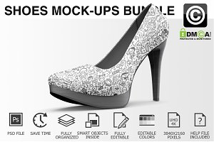 High Heels Shoes Mockup Bundle