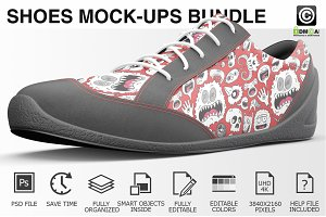 Sneakers Shoes Mockups Bundle