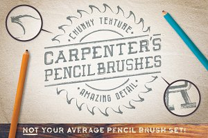 Carpenter's Pencil Brushes