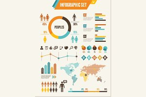 Infographics Elements. Vector