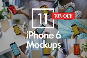11 iPhone 6 Mockups