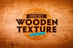 Seven Wood Texture / Mini Set #1