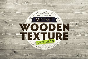 Seven Wood Texture / Mini Set #2