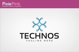 Technos Logo Template