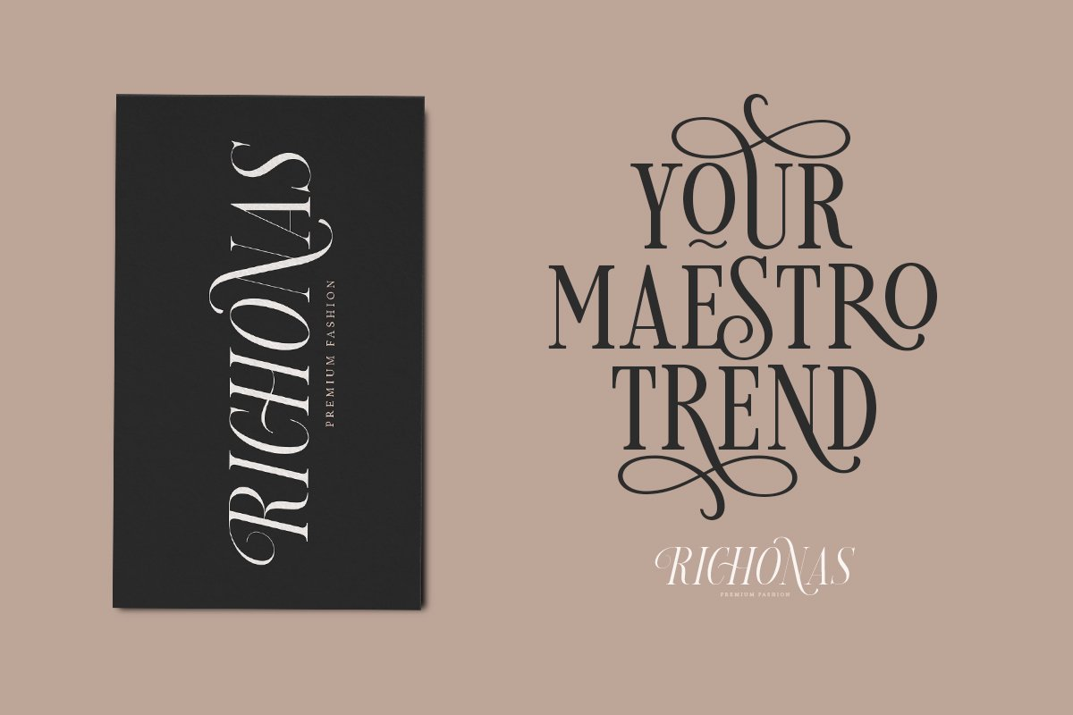 Loverica - Modern Condensed Serif in Serif Fonts - product preview 8