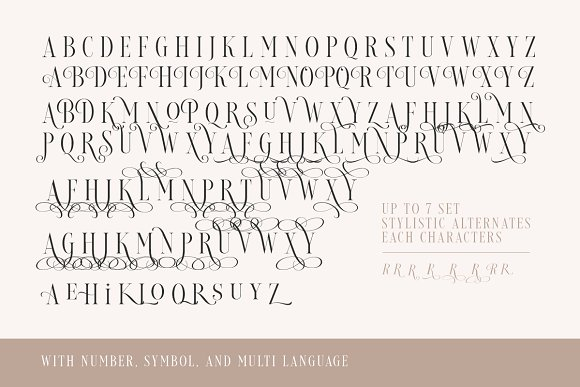 Loverica - Modern Condensed Serif in Serif Fonts - product preview 6